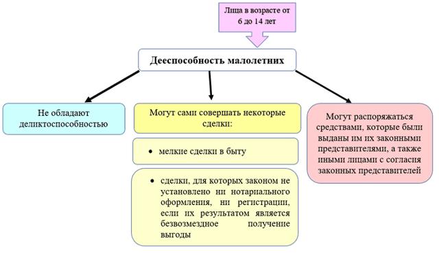 Дееспособность ГК РФ: критерии, уровни и факторы, влияющие на дееспособность