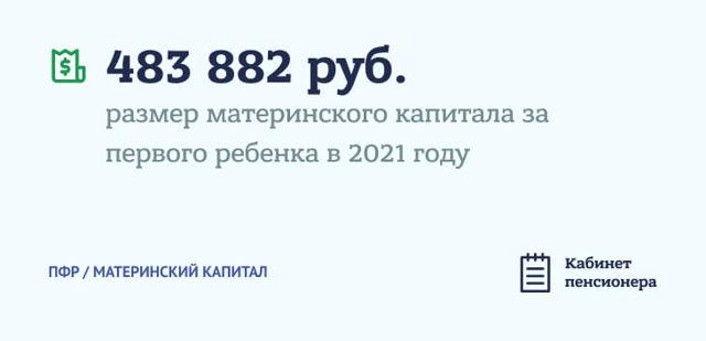 Размер материнского капитала в 2021 году: основные изменения, сумма выплаты