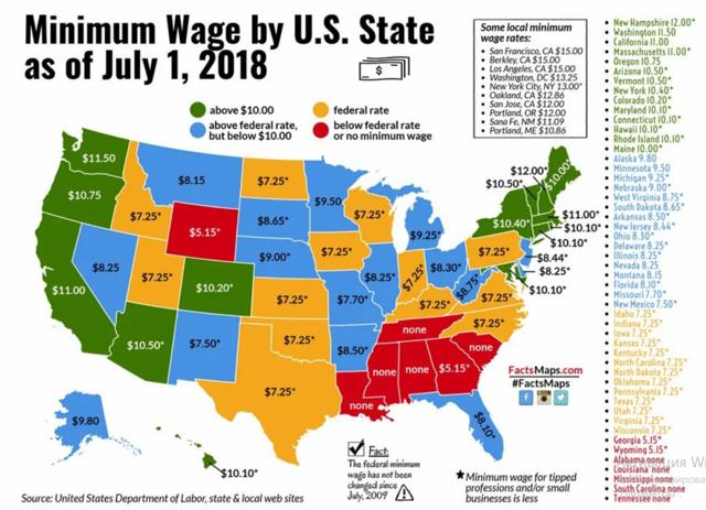 Пособие по безработице в Америке на 2021 год: какую сумму платят