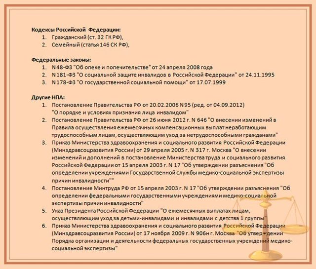 Как оформить опекунство над инвалидом 2 группы в России: кто может стать опекуном, документы и порядок оформления
